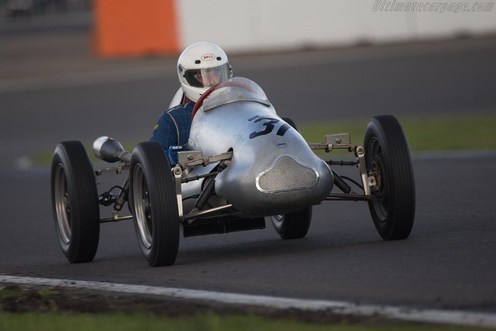 Cooper Mk5  - Driver: Michael Fowler  - 2014 Historic Grand Prix Zandvoort