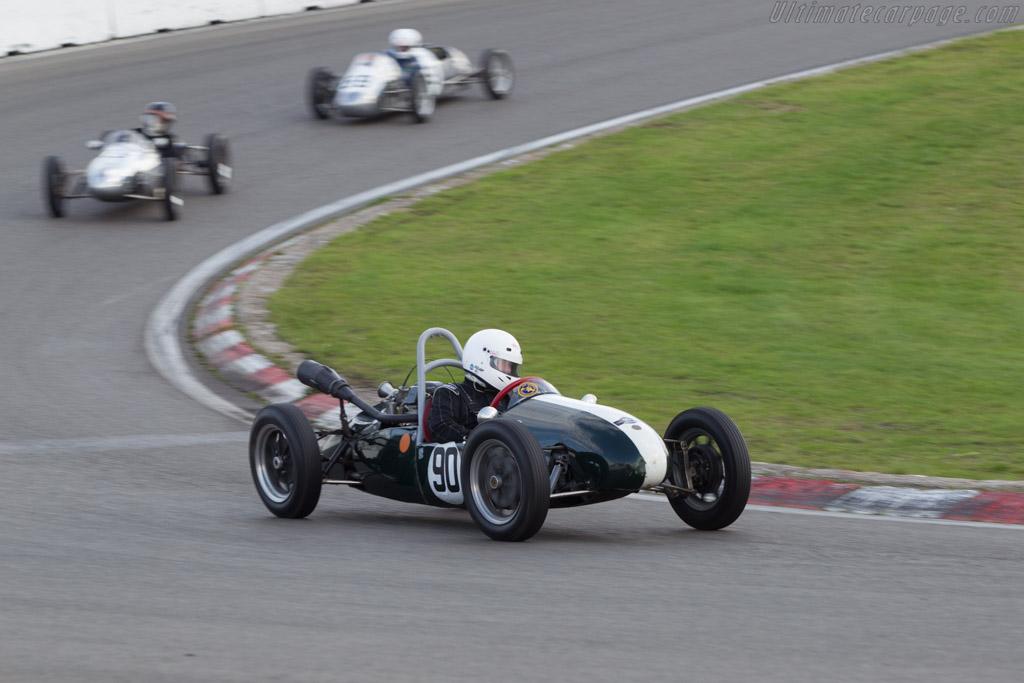 Cooper Mk8  - Driver: Ian Philips  - 2014 Historic Grand Prix Zandvoort