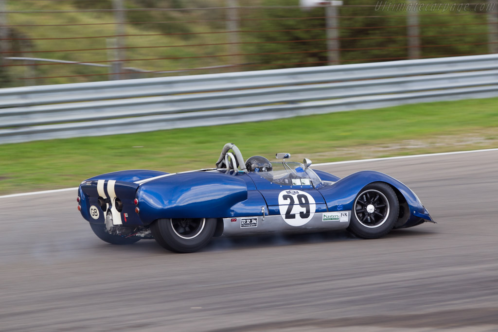 Cooper Monaco T61M Ford - Chassis: CM/2/63 - Driver: Keith Ahlers / James Billy Bellinger  - 2014 Historic Grand Prix Zandvoort