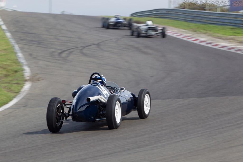 Cooper T43 Climax  - Driver: Malcolm Cooke  - 2014 Historic Grand Prix Zandvoort