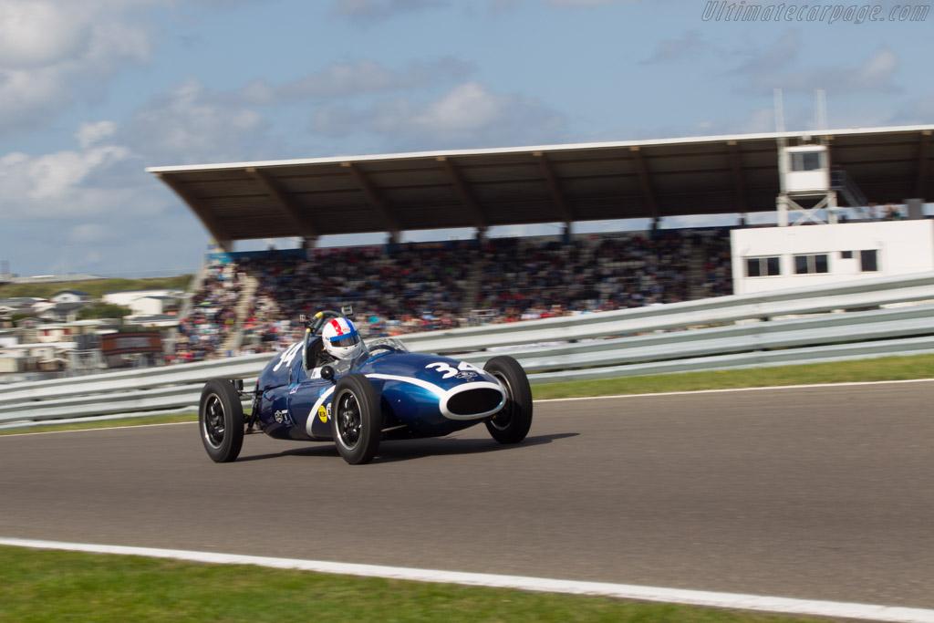 Cooper T43 Climax  - Driver: John Bussey  - 2014 Historic Grand Prix Zandvoort