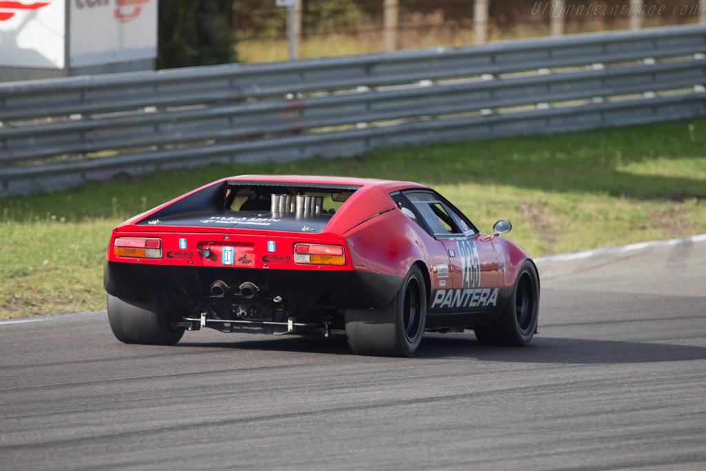 DeTomaso Pantera - Chassis: 02858 - Driver: Pieter Boel  - 2014 Historic Grand Prix Zandvoort