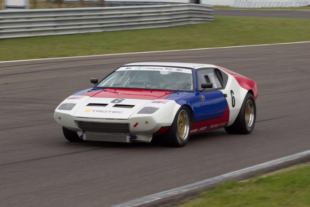 DeTomaso Pantera Group IV  - Driver: Klaus Horn  - 2014 Historic Grand Prix Zandvoort