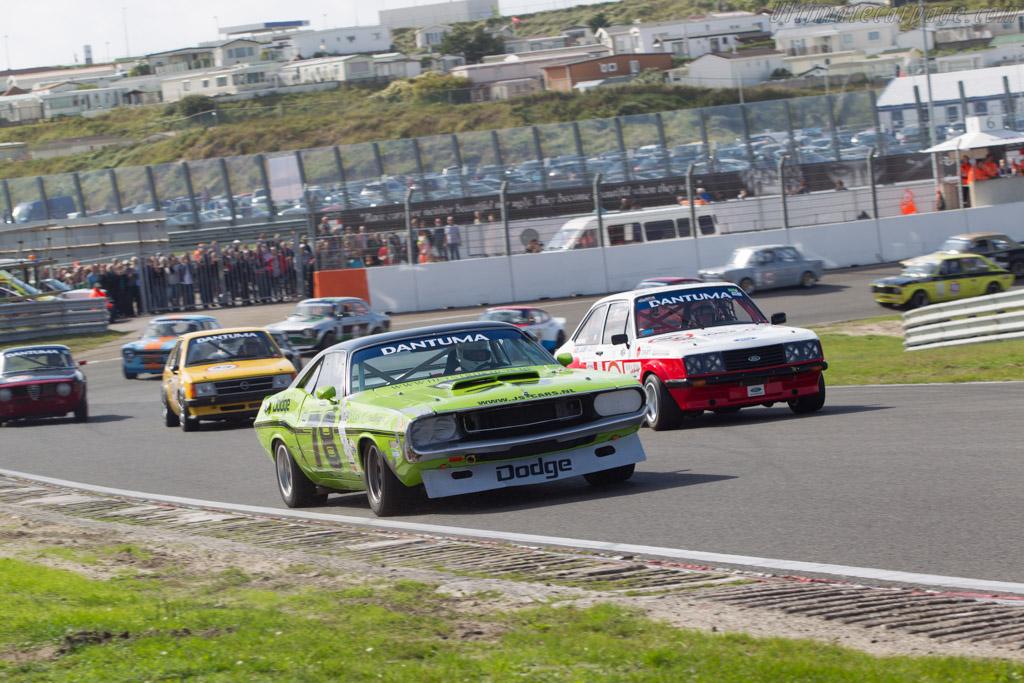 Dodge Challenger  - Driver: Bert Smeets  - 2014 Historic Grand Prix Zandvoort
