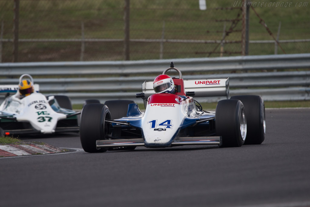 Ensign N180 Cosworth - Chassis: MN12 - Driver: Simon Fish  - 2014 Historic Grand Prix Zandvoort