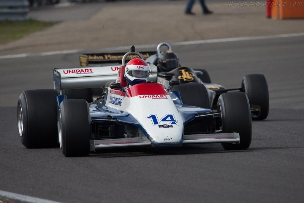 Ensign N180 Cosworth - Chassis: MN12 - Driver: Simon Fish  - 2014 Historic Grand Prix Zandvoort