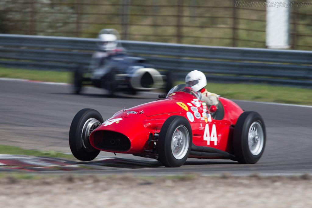 Ferrari 625 F1 Driver Alexander Boswell 2014 Historic