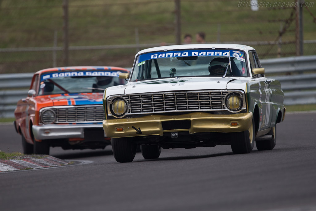 Ford Falcon  - Driver: Norbert Gross  - 2014 Historic Grand Prix Zandvoort