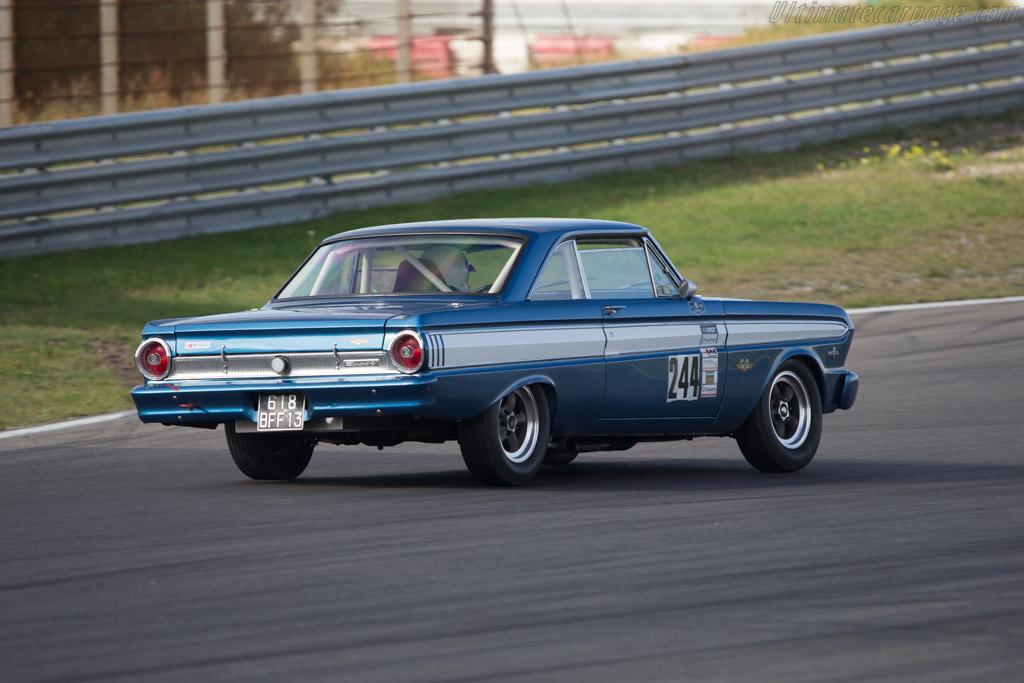 Ford Falcon  - Driver: Dick Waaijenberg  - 2014 Historic Grand Prix Zandvoort