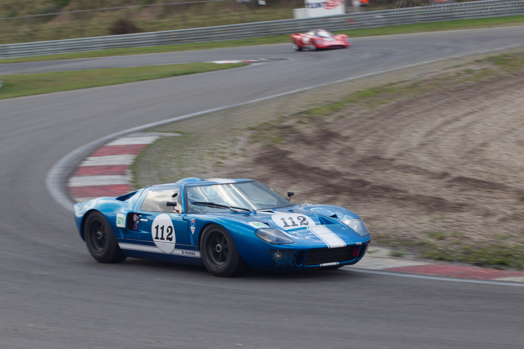 Ford GT40 - Chassis: GT40P/1062 - Driver: Hans Hugenholtz  - 2014 Historic Grand Prix Zandvoort