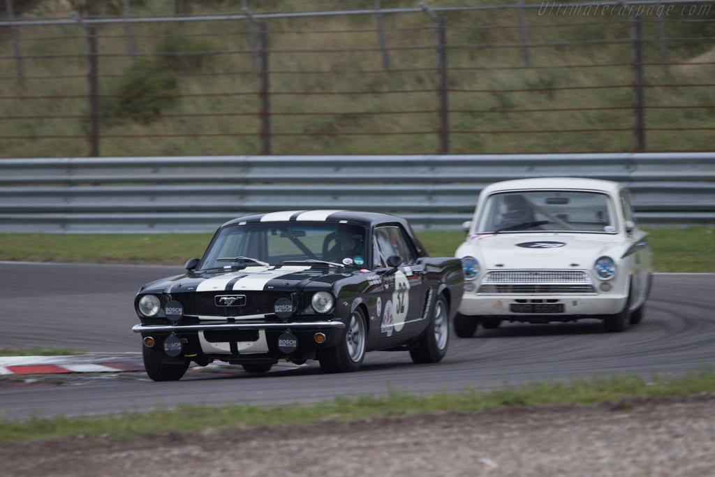 Ford Mustang  - Driver: Christian Dumolin  - 2014 Historic Grand Prix Zandvoort