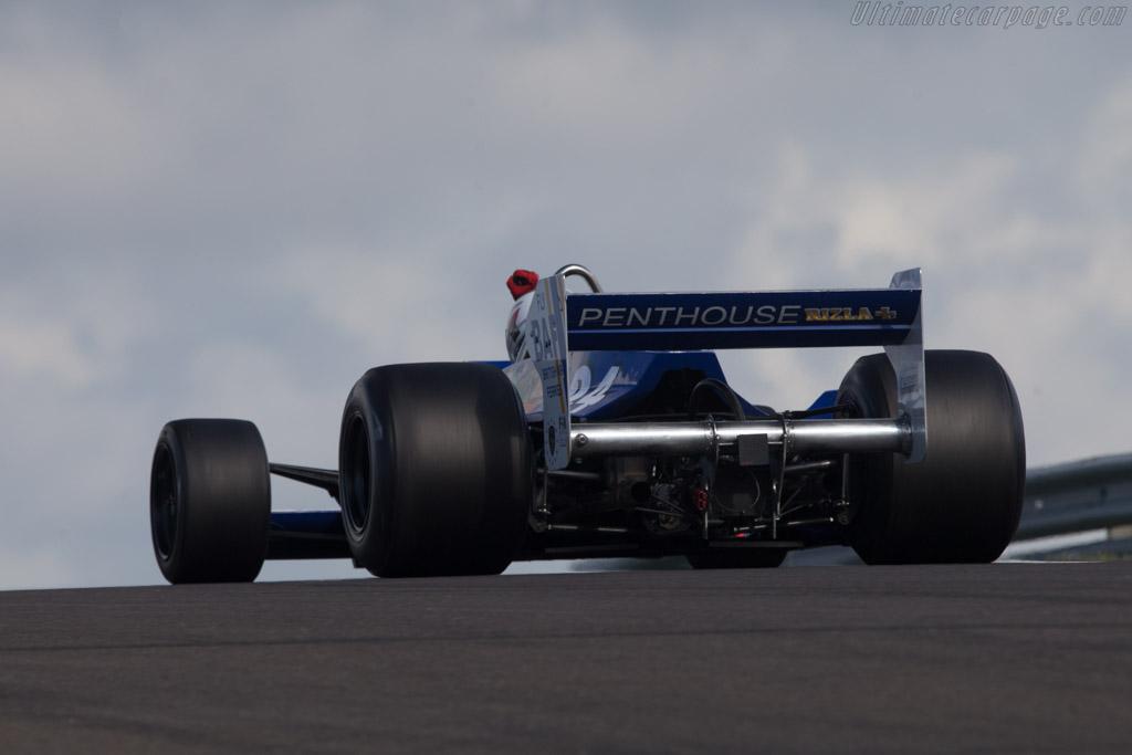 Hesketh 308E Cosworth - Chassis: 308E / 1 - Driver: Michael Lyons  - 2014 Historic Grand Prix Zandvoort