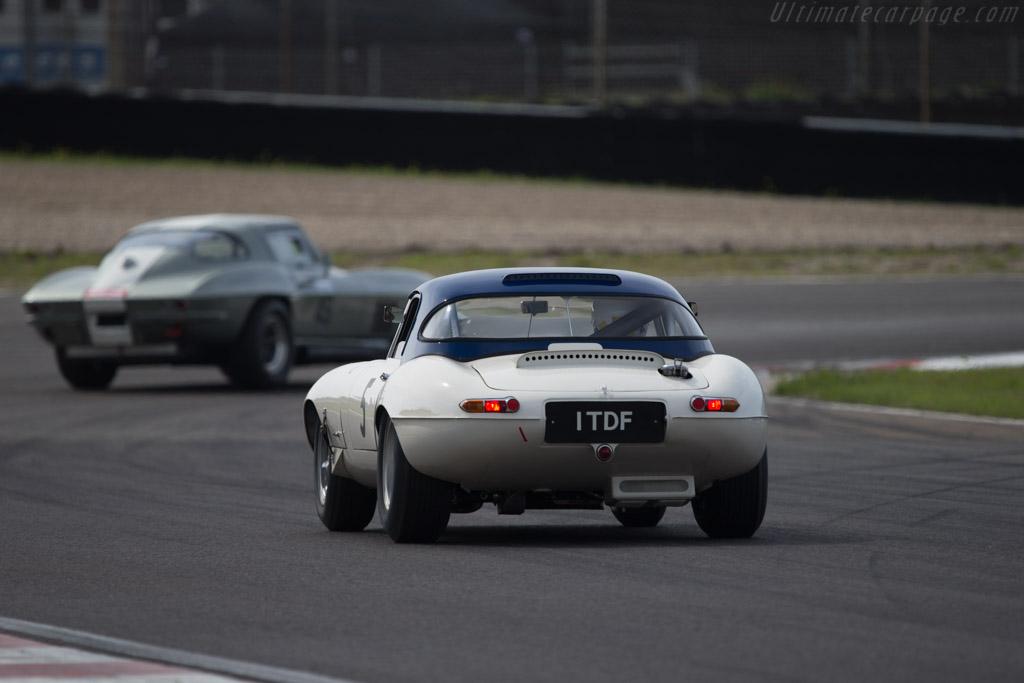 Jaguar E-Type  - Driver: Carlos Monteverde  - 2014 Historic Grand Prix Zandvoort