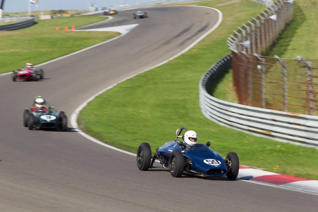 Lola Mk3  - Driver: Robin Longdon  - 2014 Historic Grand Prix Zandvoort