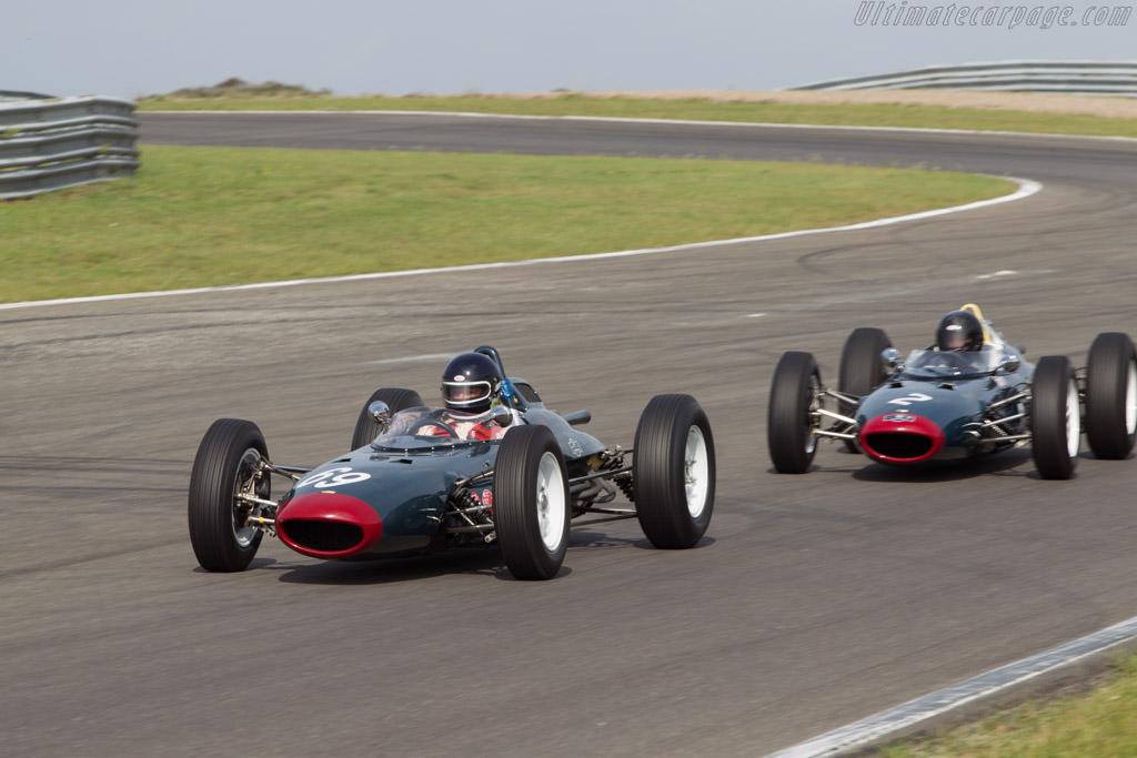 Lola Mk4 Climax - Chassis: BRGP42 - Driver: Mister John of B.  - 2014 Historic Grand Prix Zandvoort