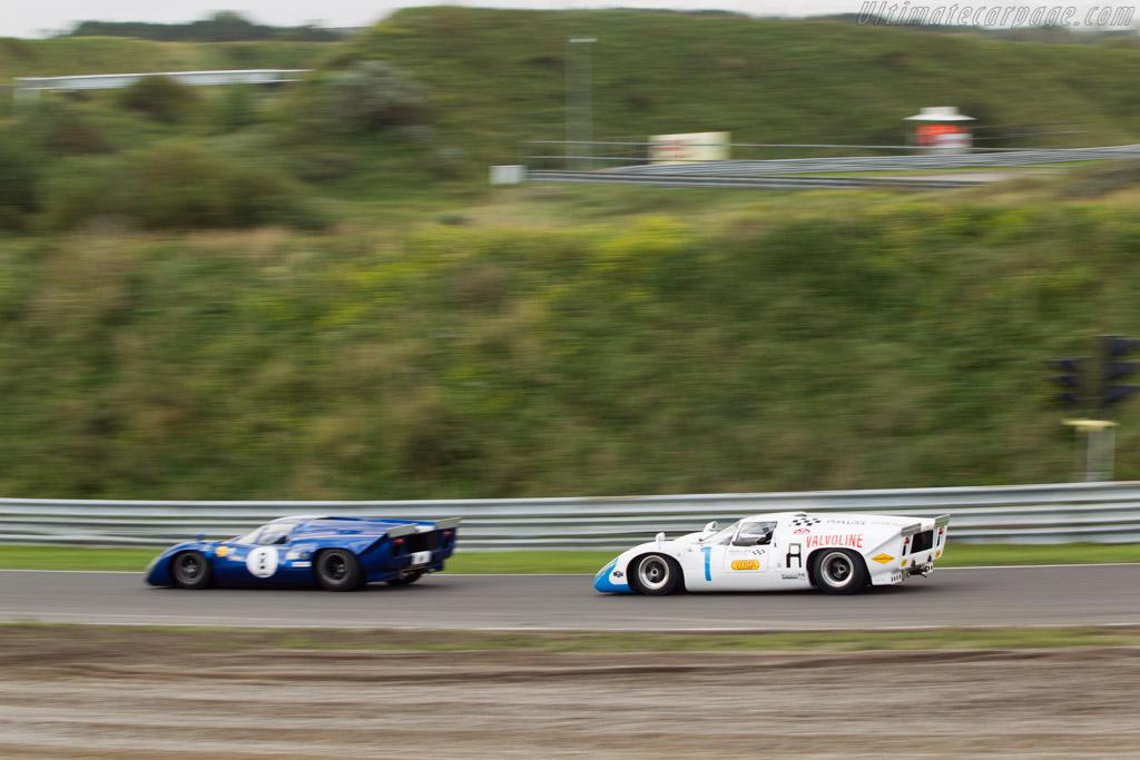 Lola T70 Mk3b Chevrolet - Chassis: SL76/153 - Driver: Simon Hadfield  - 2014 Historic Grand Prix Zandvoort