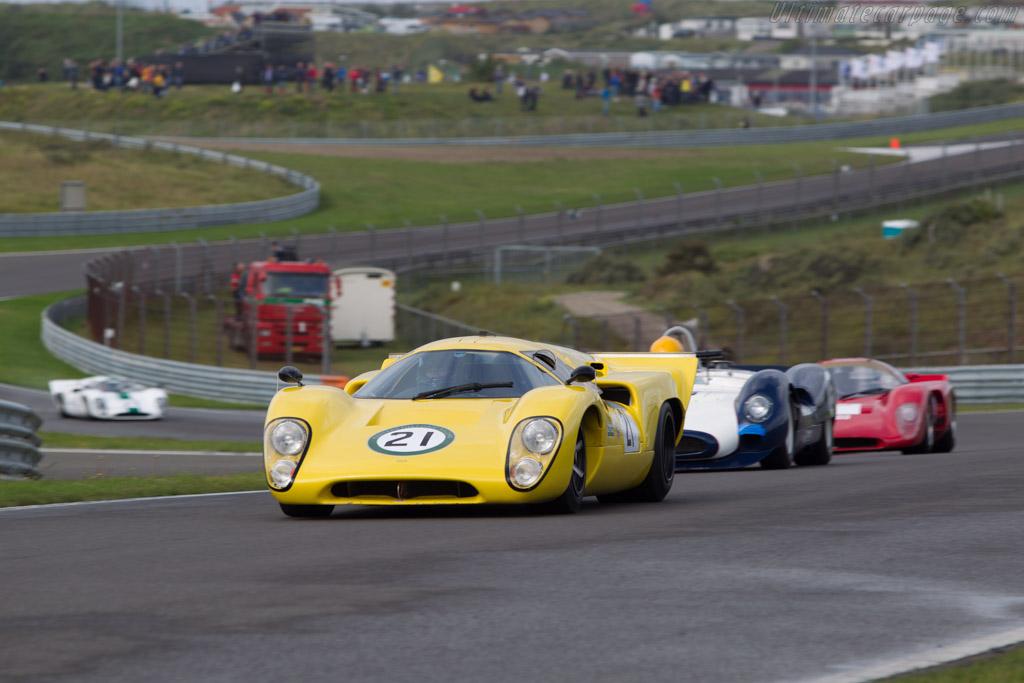 Lola T70 Mk3b Chevrolet  - Driver: Steve Tandy  - 2014 Historic Grand Prix Zandvoort