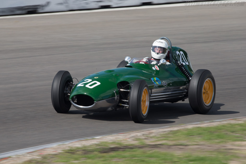 Lotus 16 Climax - Chassis: 364 - Driver: Marshall Bailey  - 2014 Historic Grand Prix Zandvoort