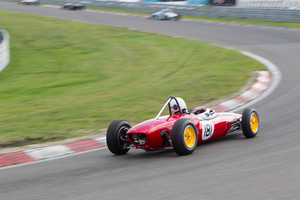 Lotus 20/22  - Driver: John Lord  - 2014 Historic Grand Prix Zandvoort