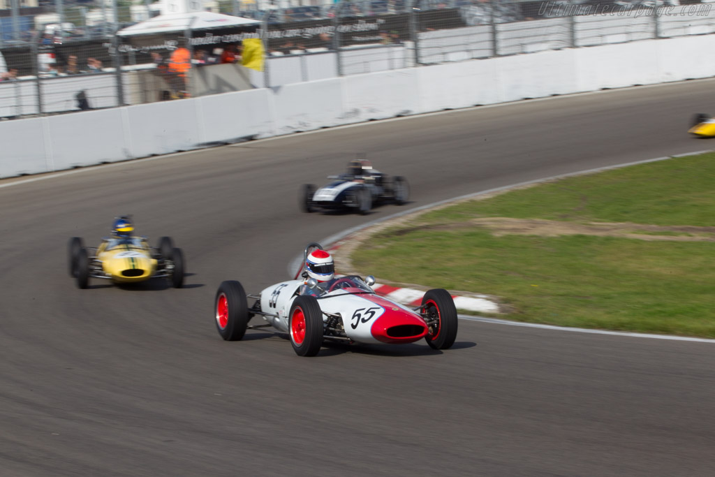 Lotus 22  - Driver: Manfredo Rossi di Montelera  - 2014 Historic Grand Prix Zandvoort