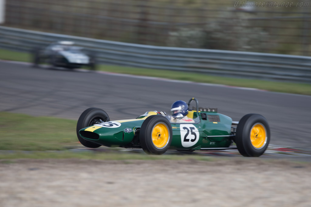 Lotus 25 Climax - Chassis: R3 - Driver: Andy Middlehurst  - 2014 Historic Grand Prix Zandvoort