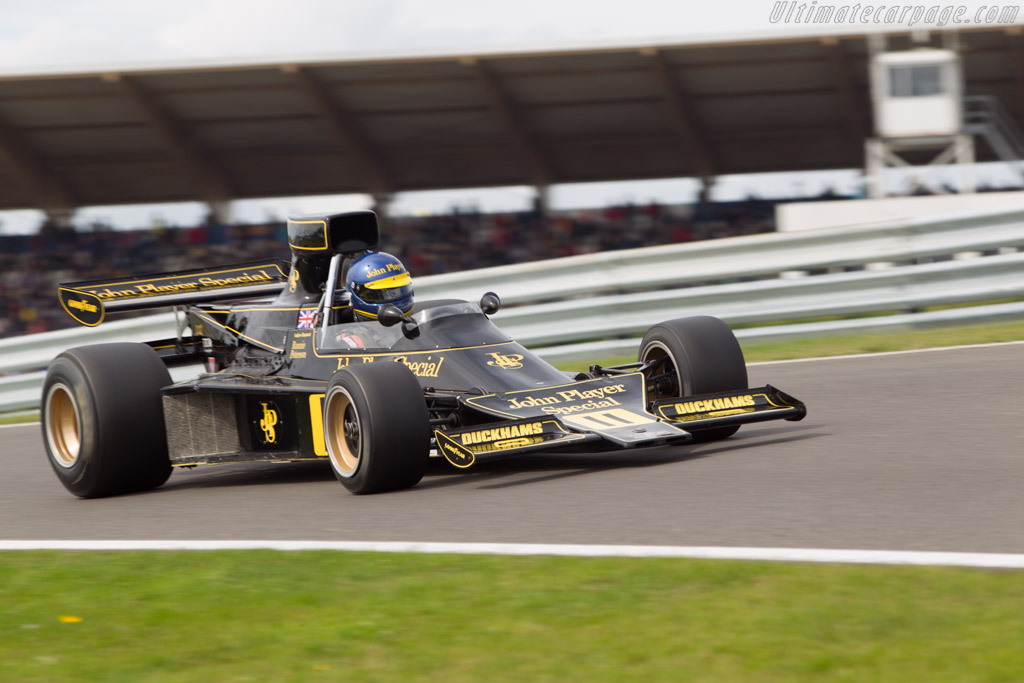 Lotus 76 Cosworth - Chassis: JPS9 - Driver: Andrew Beaumont  - 2014 Historic Grand Prix Zandvoort