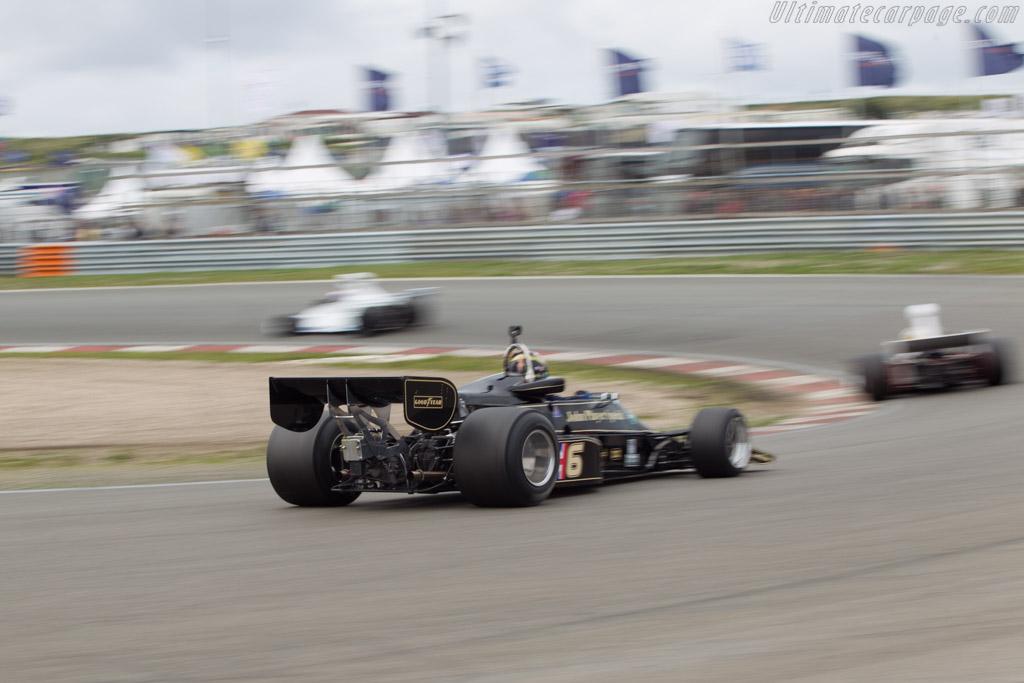 Lotus 77 Cosworth - Chassis: JPS12 - Driver: Max Smith Hilliard  - 2014 Historic Grand Prix Zandvoort