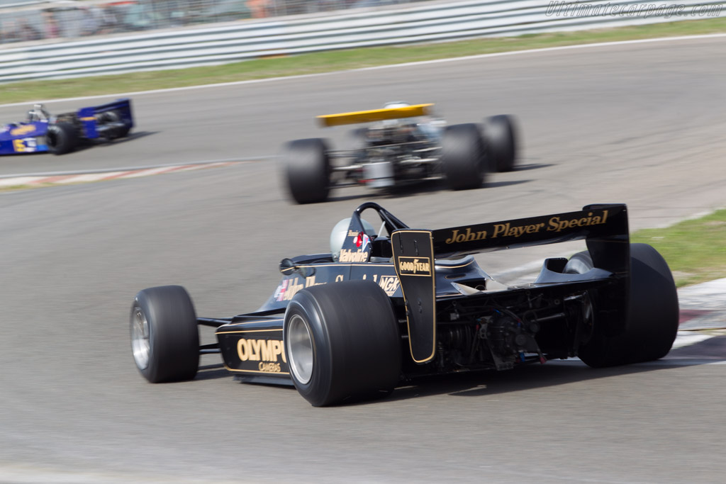 Lotus 79 Cosworth - Chassis: 79/2 - Driver: Chris Locke  - 2014 Historic Grand Prix Zandvoort