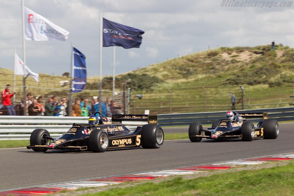 Lotus 79 Cosworth - Chassis: 79/2 - Driver: Chris Locke  - 2014 Historic Grand Prix Zandvoort