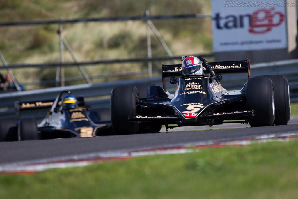 Lotus 79 Cosworth - Chassis: 79/3 - Driver: Arie Luyendyk  - 2014 Historic Grand Prix Zandvoort