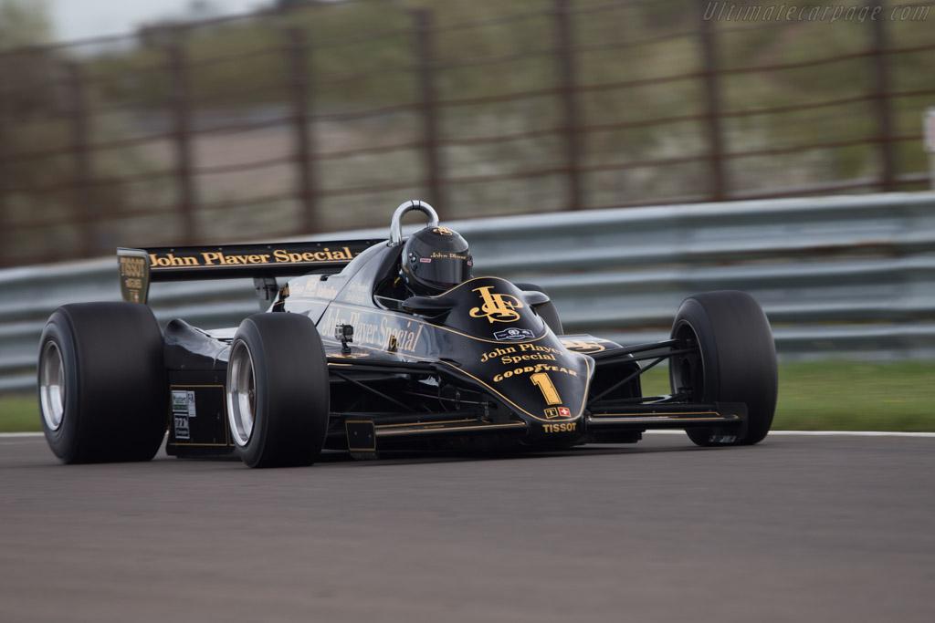 Lotus 91 Cosworth - Chassis: 91/5 - Driver: Greg Thornton - 2014 Historic Grand Prix Zandvoort