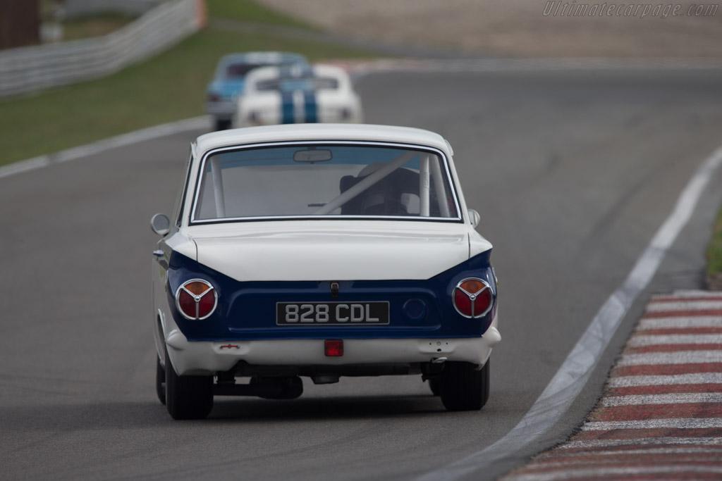 Lotus Cortina  - Driver: Carlos Monteverde  - 2014 Historic Grand Prix Zandvoort
