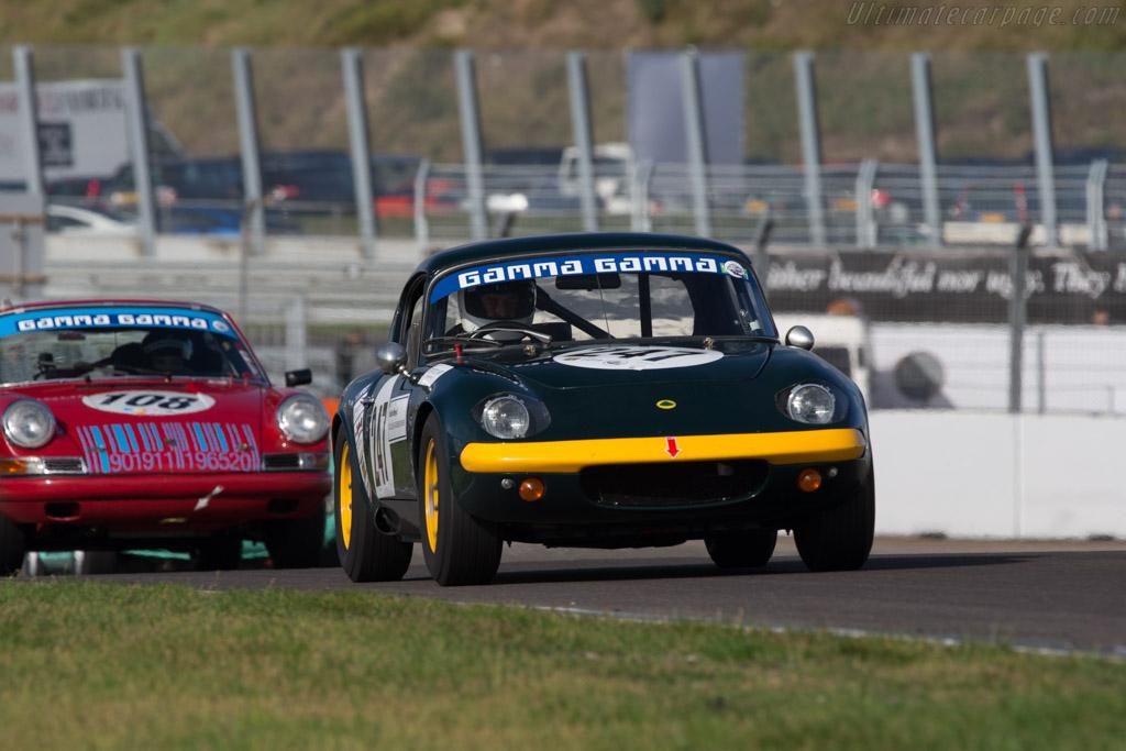 Lotus Elan  - Driver: Thomas Kargus  - 2014 Historic Grand Prix Zandvoort