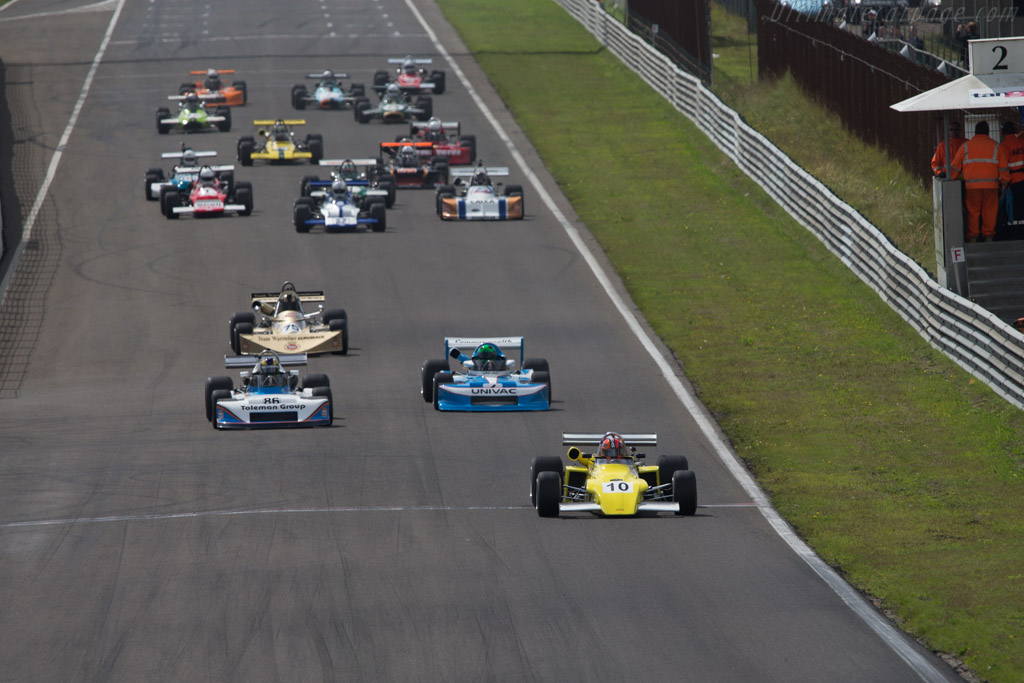 March 722  - Driver: Darwin Smith  - 2014 Historic Grand Prix Zandvoort