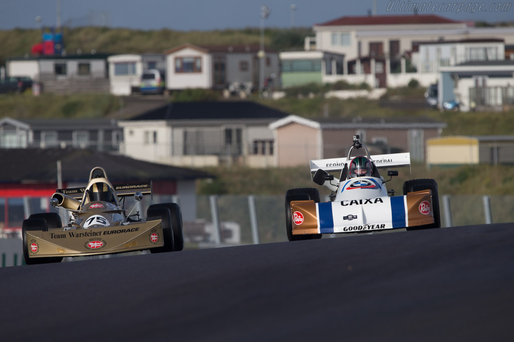 March 762 BMW  - Driver: Richard Meins  - 2014 Historic Grand Prix Zandvoort