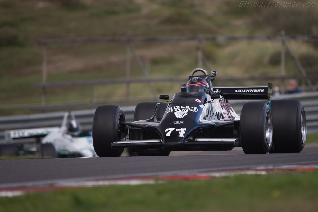 March 811 Cosworth - Chassis: RM6 - Driver: Vincent Rivet  - 2014 Historic Grand Prix Zandvoort