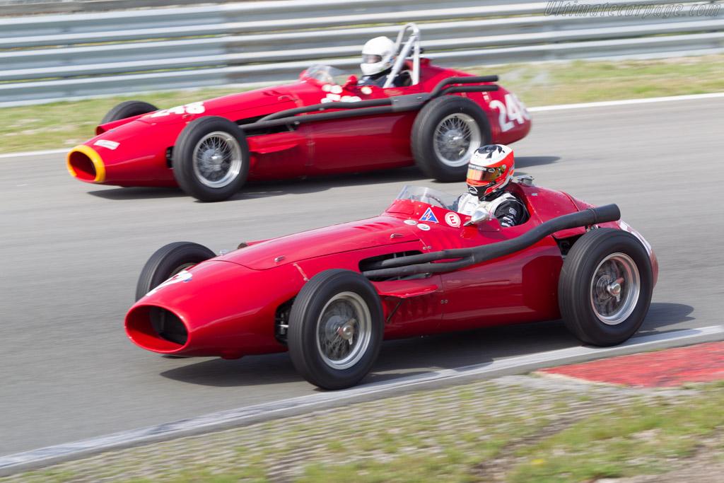 Maserati 250F - Chassis: 2522 - Driver: Yelmar Buurman  - 2014 Historic Grand Prix Zandvoort