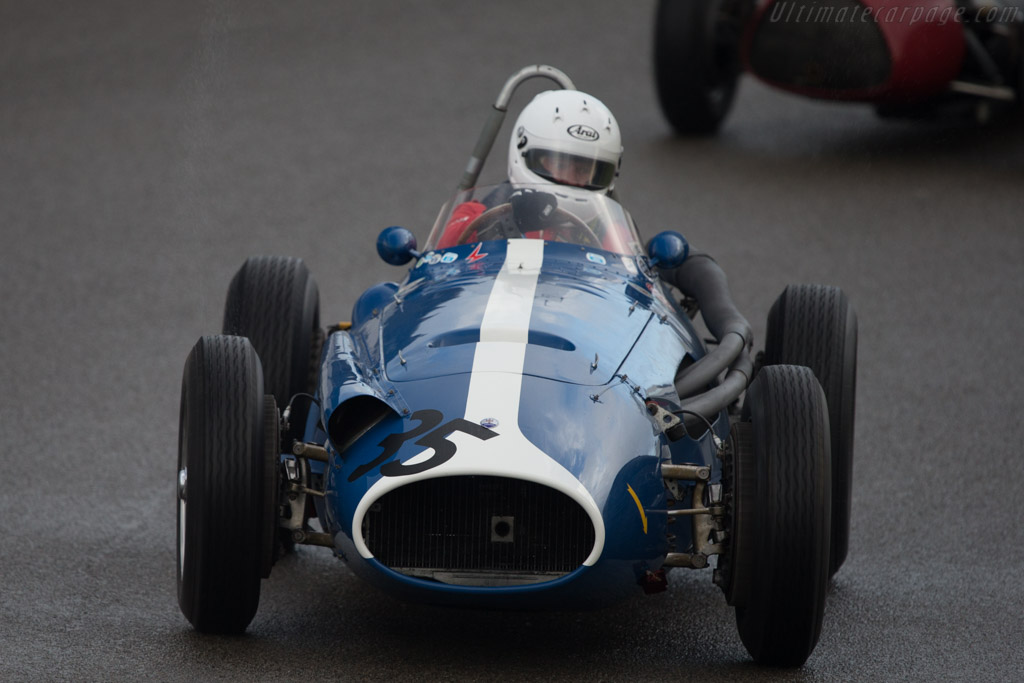 Maserati 250F Piccolo - Chassis: 2534 - Driver: Jos Koster  - 2014 Historic Grand Prix Zandvoort