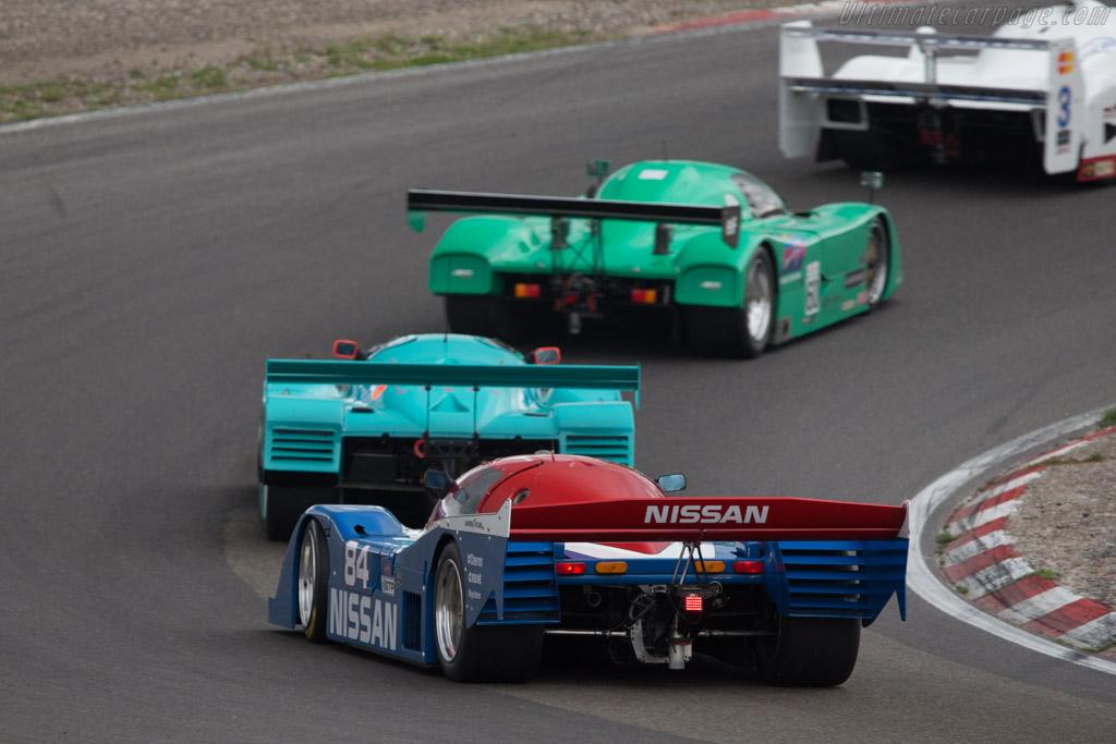 Nissan NPT-90 - Chassis: 90-03 - Driver: Stefano Rosina  - 2014 Historic Grand Prix Zandvoort