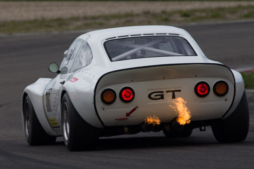 Opel GT Group 4  - Driver: Ulrich Gerent  - 2014 Historic Grand Prix Zandvoort