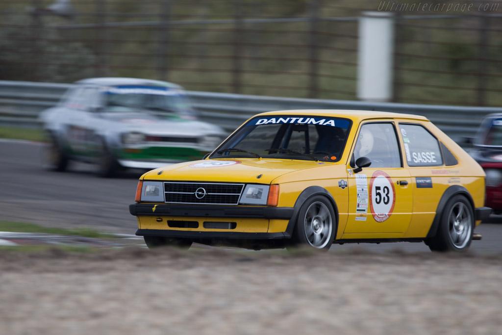 Opel Kadett D  - Driver: Hans-Dieter Sasse  - 2014 Historic Grand Prix Zandvoort