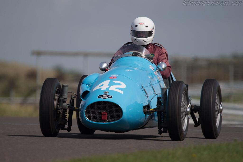 Pierce MG  - Driver: James Willis  - 2014 Historic Grand Prix Zandvoort