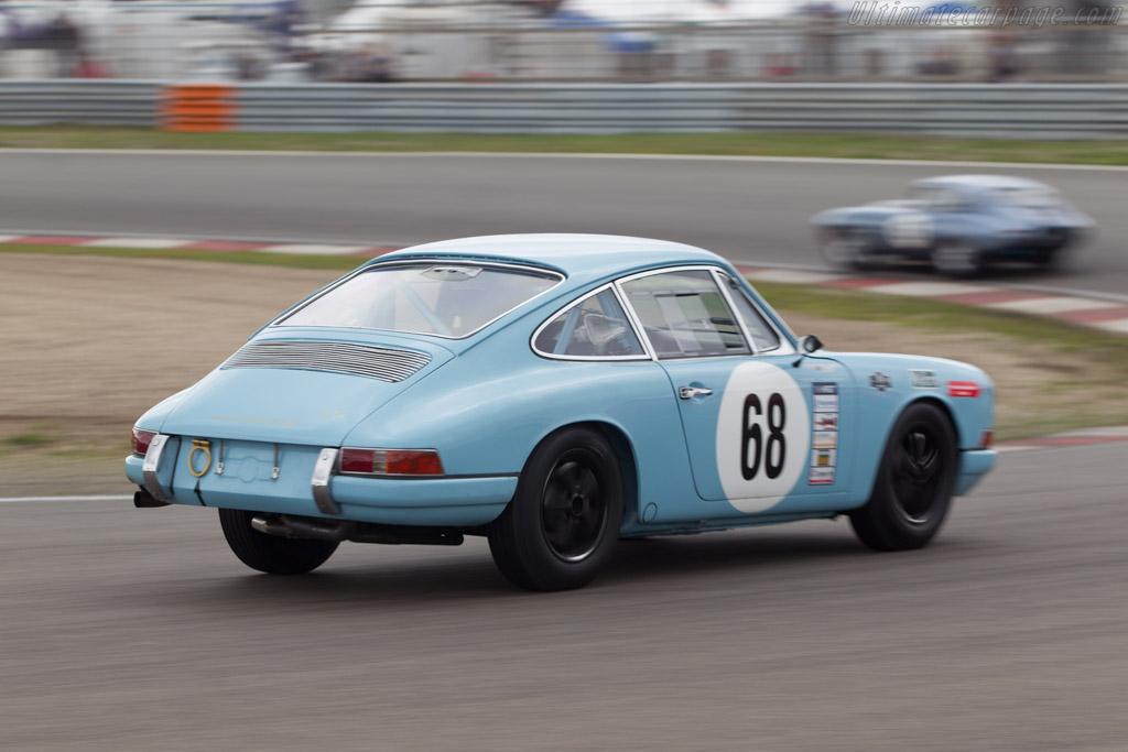 Porsche 911  - Driver: Michael van Duijvendijk / Shirley van der Lof  - 2014 Historic Grand Prix Zandvoort