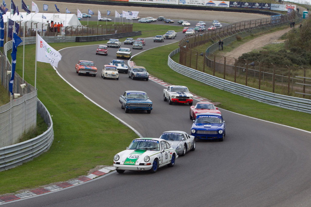 Porsche 911  - Driver: Michael Koel  - 2014 Historic Grand Prix Zandvoort