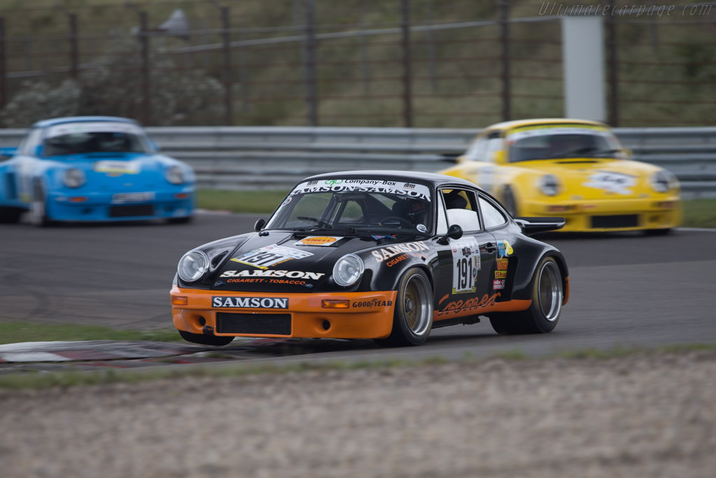 Porsche 911 RSR Group 4  - Driver: Wolfgang Pohl  - 2014 Historic Grand Prix Zandvoort