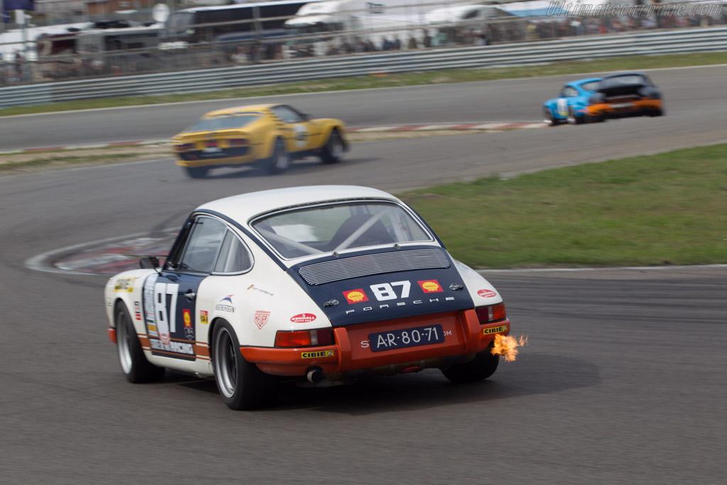 Porsche 911 St Driver Robert Westerman 2014 Historic