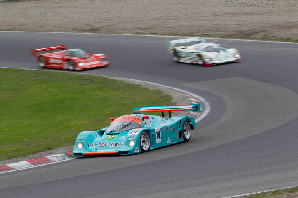 Porsche 962 CK6 - Chassis: 962-118 T-1 - Driver: Tommy Dreelan  - 2014 Historic Grand Prix Zandvoort