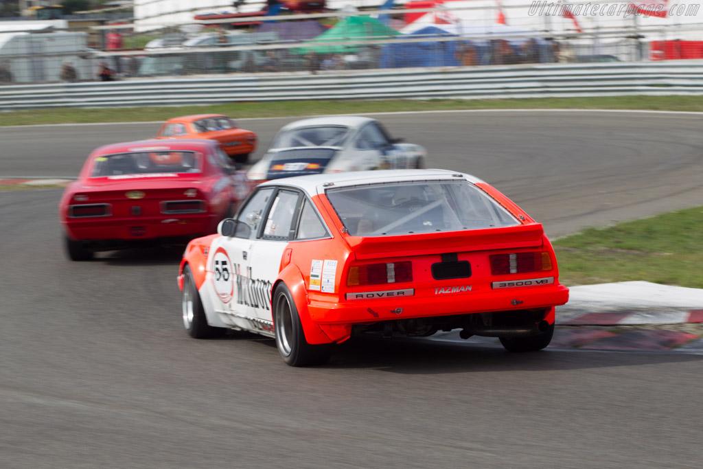 Rover 3500  - Driver: Jeroen Veldhuis  - 2014 Historic Grand Prix Zandvoort