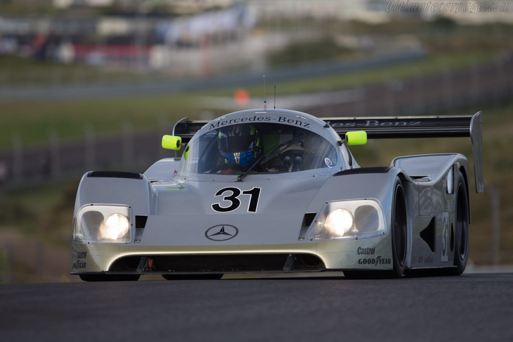 Sauber-Mercedes C11 - Chassis: 89.C11.00 - Driver: Gareth Evans  - 2014 Historic Grand Prix Zandvoort