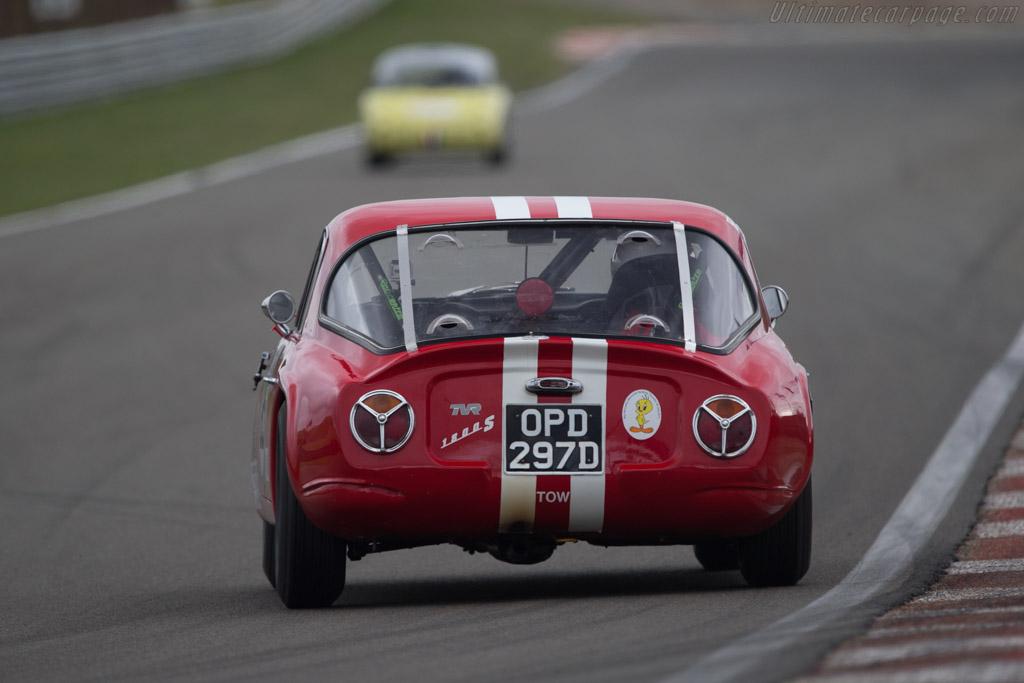 TVR Grantura  - Driver: Mark Ashworth / Simon Ashworth  - 2014 Historic Grand Prix Zandvoort